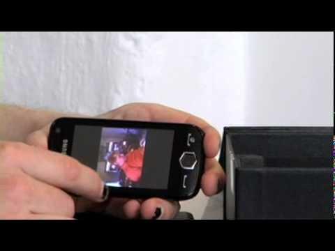 Katshing testar Samsung Jet S8000
