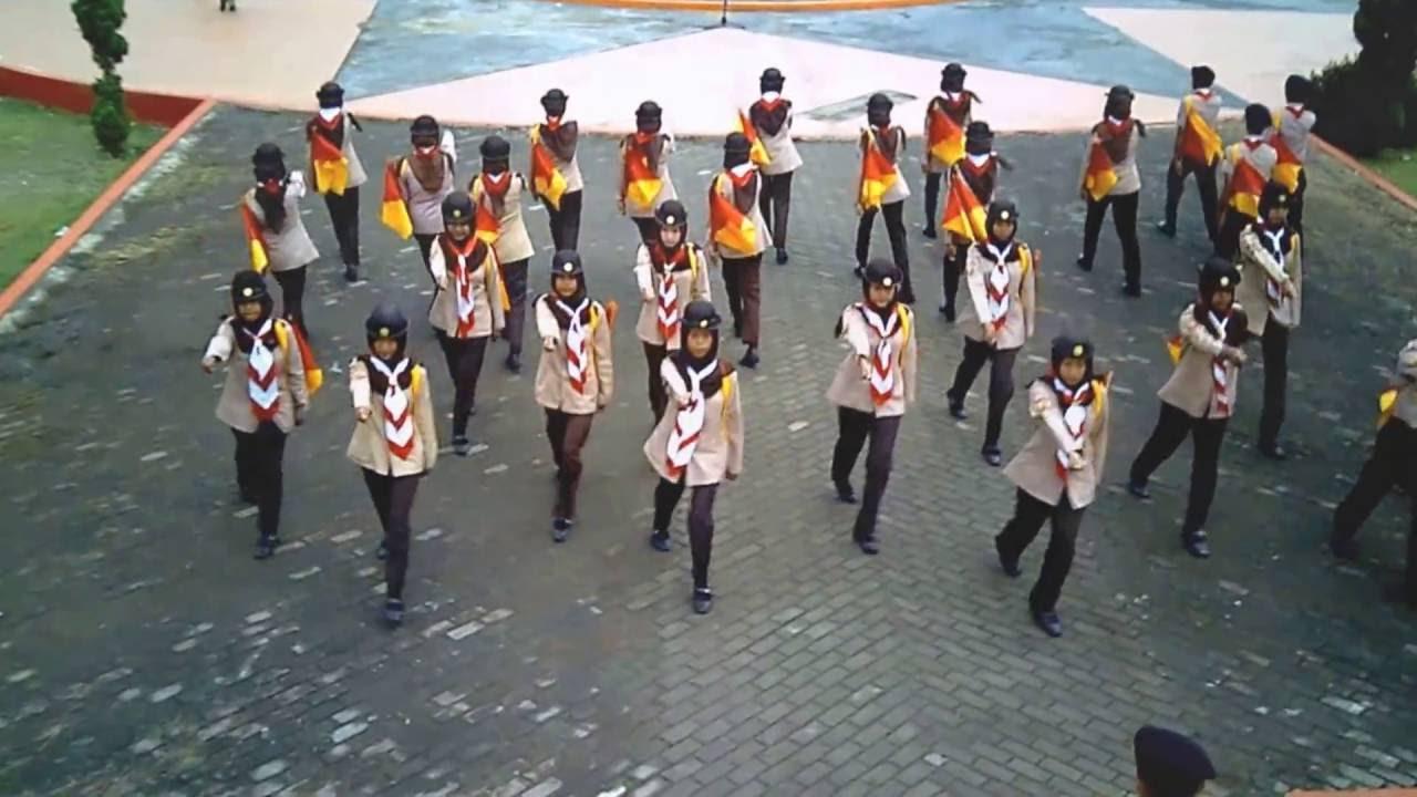 Pramuka Variasi Semaphore Exhibition Pasukan Lentera Sman 2 Bendera Dan Tongkat Semapore Banjar Hari Ke 55