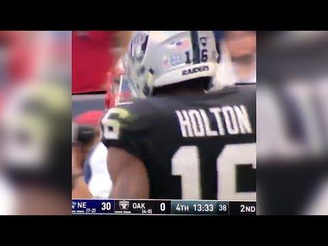 Johnny Holton SLAPS Patriots Player!