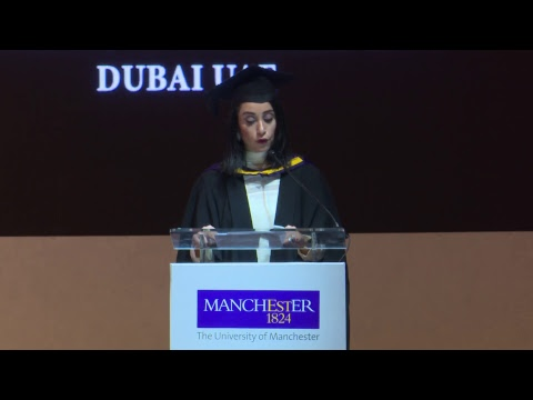 University of Manchester Middle East Center Graduation Ceremony November 2017