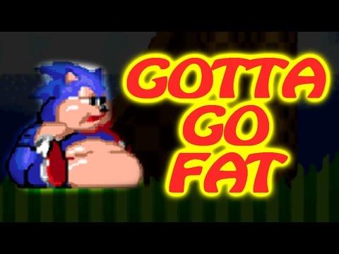 GOTTA GO FAT (Fat Sonic Game Hack) - Sonic The Hedgehog 2 XL