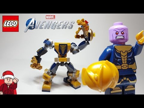 LEGO Avengers Thanos Mech (71641) Set Review