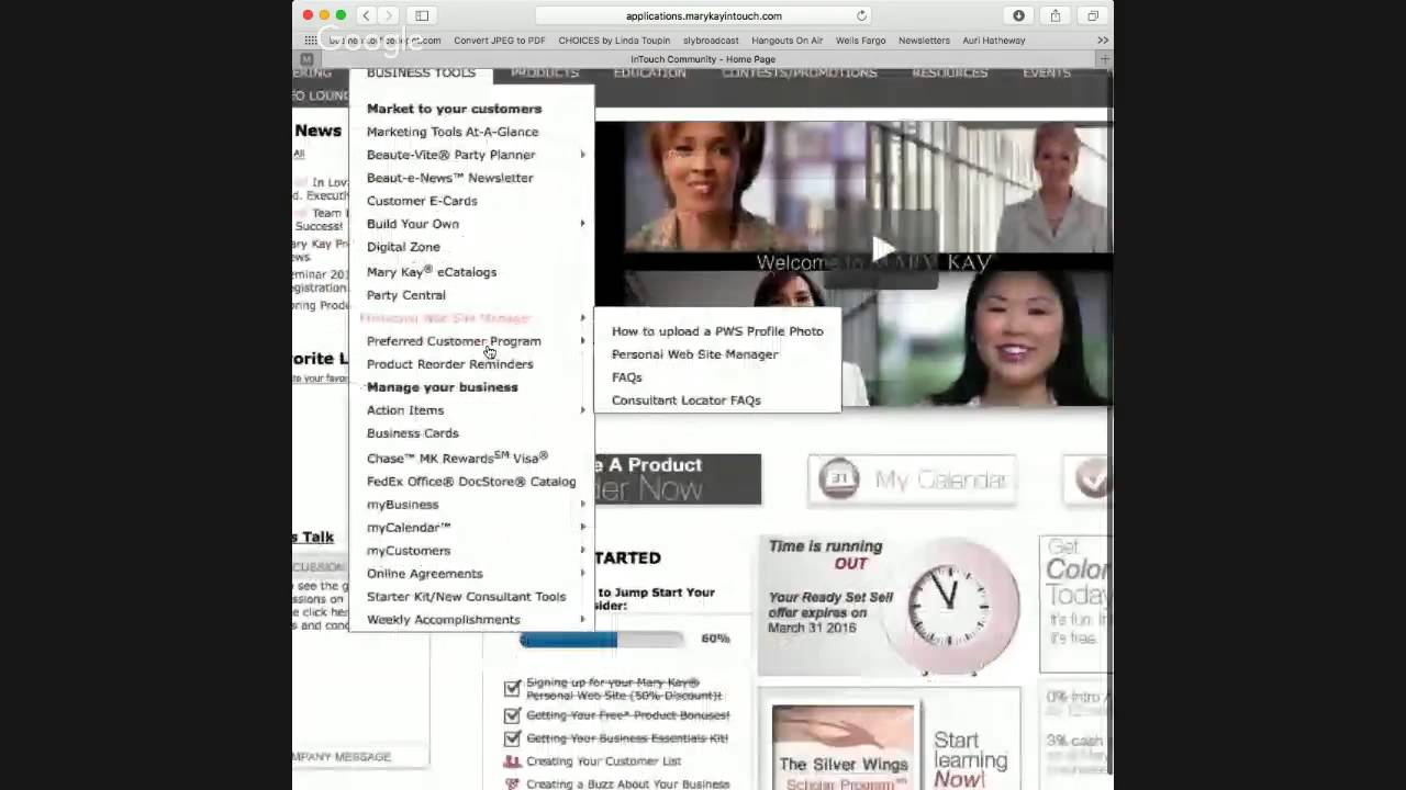 Introduction to Mary Kay InTouch for New Consultants - YouTube