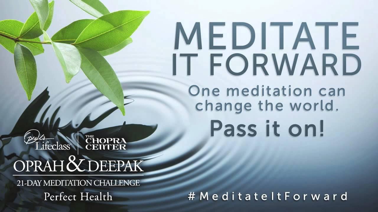 oprah deepak free 21 day meditation
