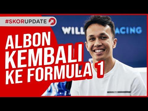 Pembalap Thailand, Alex Albon Kembali Ke F1 Bersama Williams