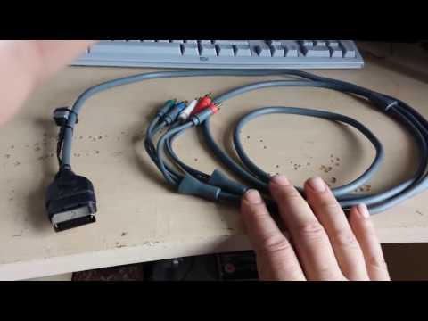 Original Xbox DIY  Component Cable And Optical Audio