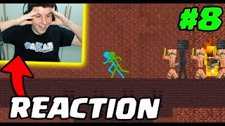 REACTION: Animation Vs Minecraft ! #8