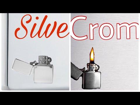 zippo sterling silver vs brush chrome