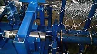 Станок автомат для производства сетки рабица(, 2014-10-29T21:34:12.000Z)