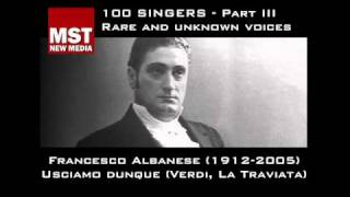 Part III: Rare and unknown voices - FRANCESCO ALBANESE