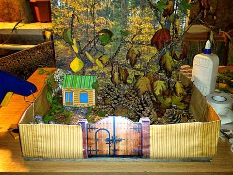 Поделки из природного материала для детского сада 77