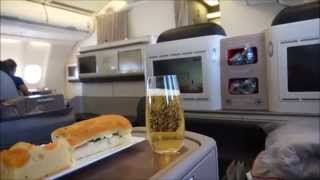 Turkish Airlines Business Class Airbus A330 Cape Town CPT to Johannesburg JNB