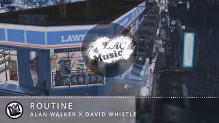 [3D Music] Alan Walker x David Whistle - Routine  ( Must use headphones to enjoy)
