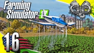 Farming Simulator 2017 Gameplay :EP16: Crop Duster! (PC HD American Outback)