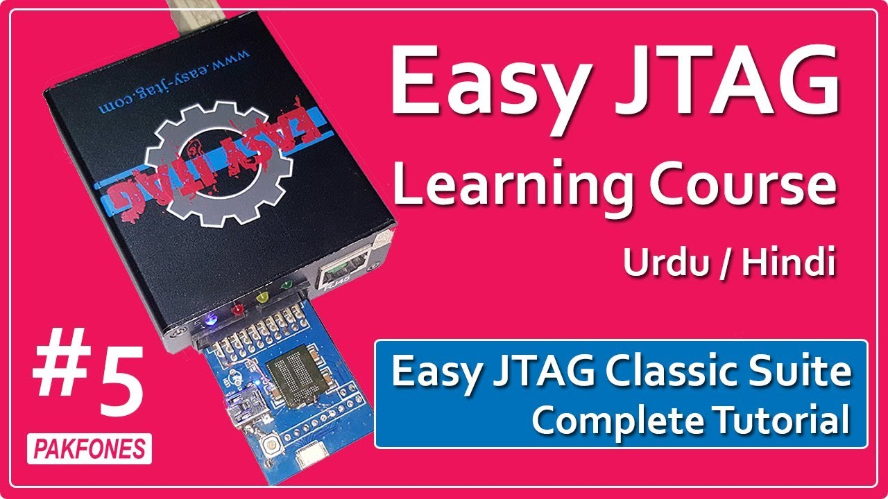 Easy JTAG Classic Suite Complete Tutorial - eMMC - JTAG    Easy JTAG  Learning Course #5