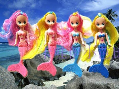 Mainan Anak Boneka Putri duyung Baby Doll Mermaids Kids Toys