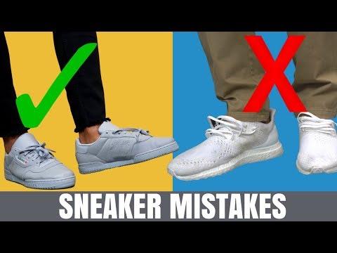 5 Biggest Sneaker Mistakes Men Make