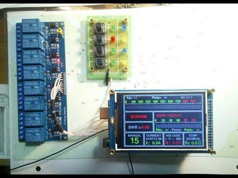 """Контроллер УМ на Arduino Mega2560 & LCD3,5"""". Часть #2."""