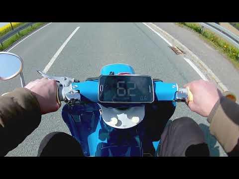 Simson Schwalbe KR 51 Bj. 1964 * Top Speed mit GPS * Urschwalbe Höchstgeschwindigkeit Handschaltung
