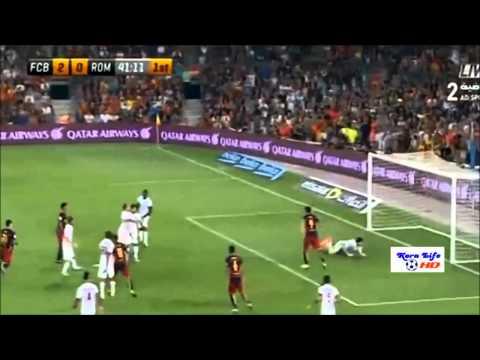 บาซ่า VS โรม่า ฟุตบอล โจน กัมเปร์ โทรฟี่ บาร์เซโลน่า สเปน 3 0 โรม่า อิตาลี เมื่อคืนนี้ เมื่อ คืนนี้