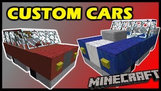 [1.9 Vanilla Minecraft] Custom driveable CARS in 20 commands