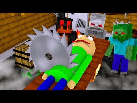 Monster School : KILL BALDI CHALLENGE!! - Minecraft Animation thumbnail