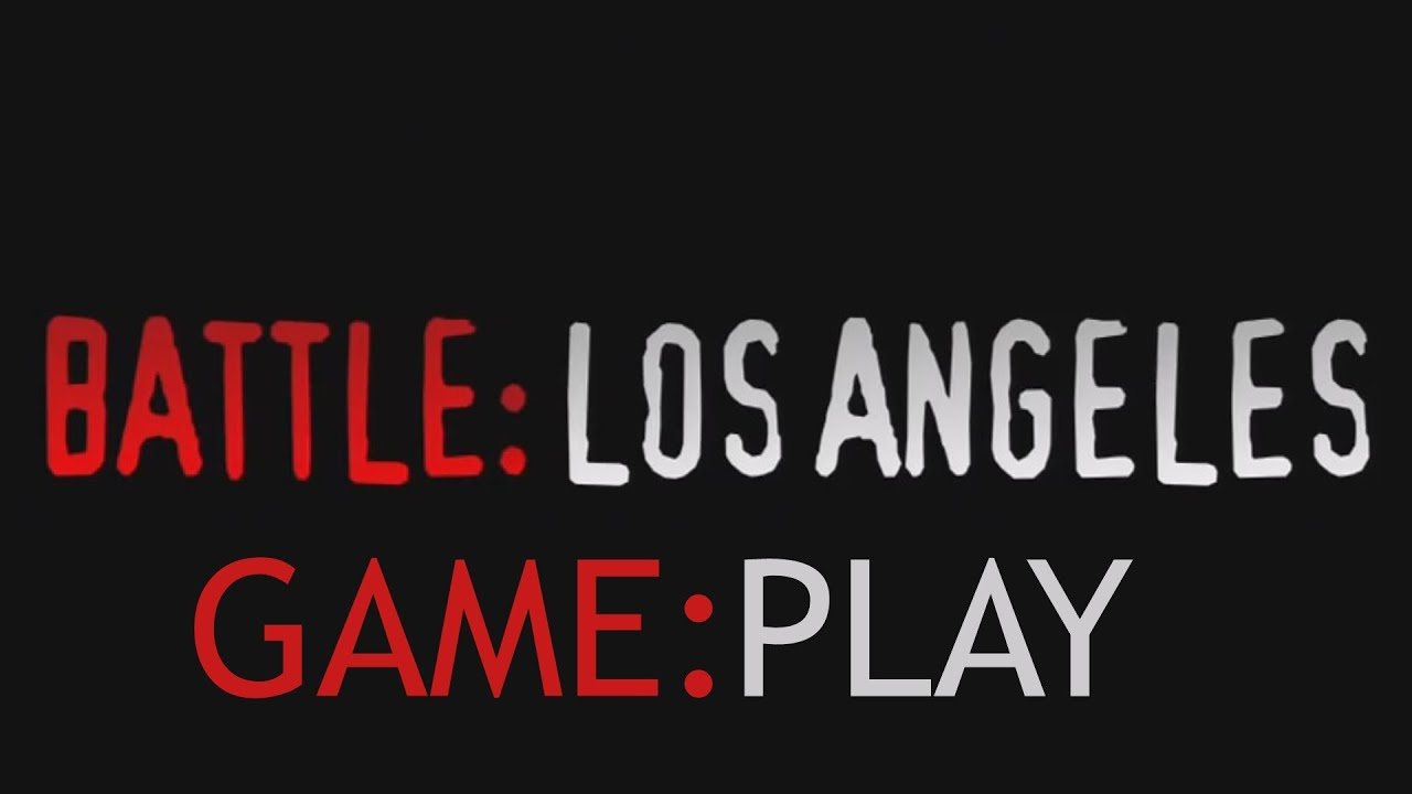 Battle: Los Angeles the Video Game - HD Gameplay - YouTube