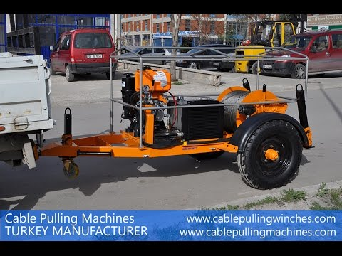 Cable Pulling Machines Winches Manufacturer Prices