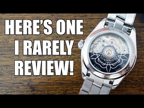 Tissot PR 100 Powermatic 80 Automatic Watch Review - One For The Ladies! - Perth WAtch #209