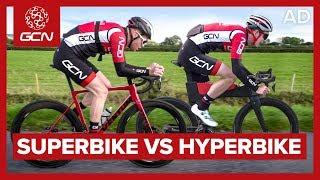 Super Bike Vs Hyper Bike: Can You Go Faster If You Break The Rules?