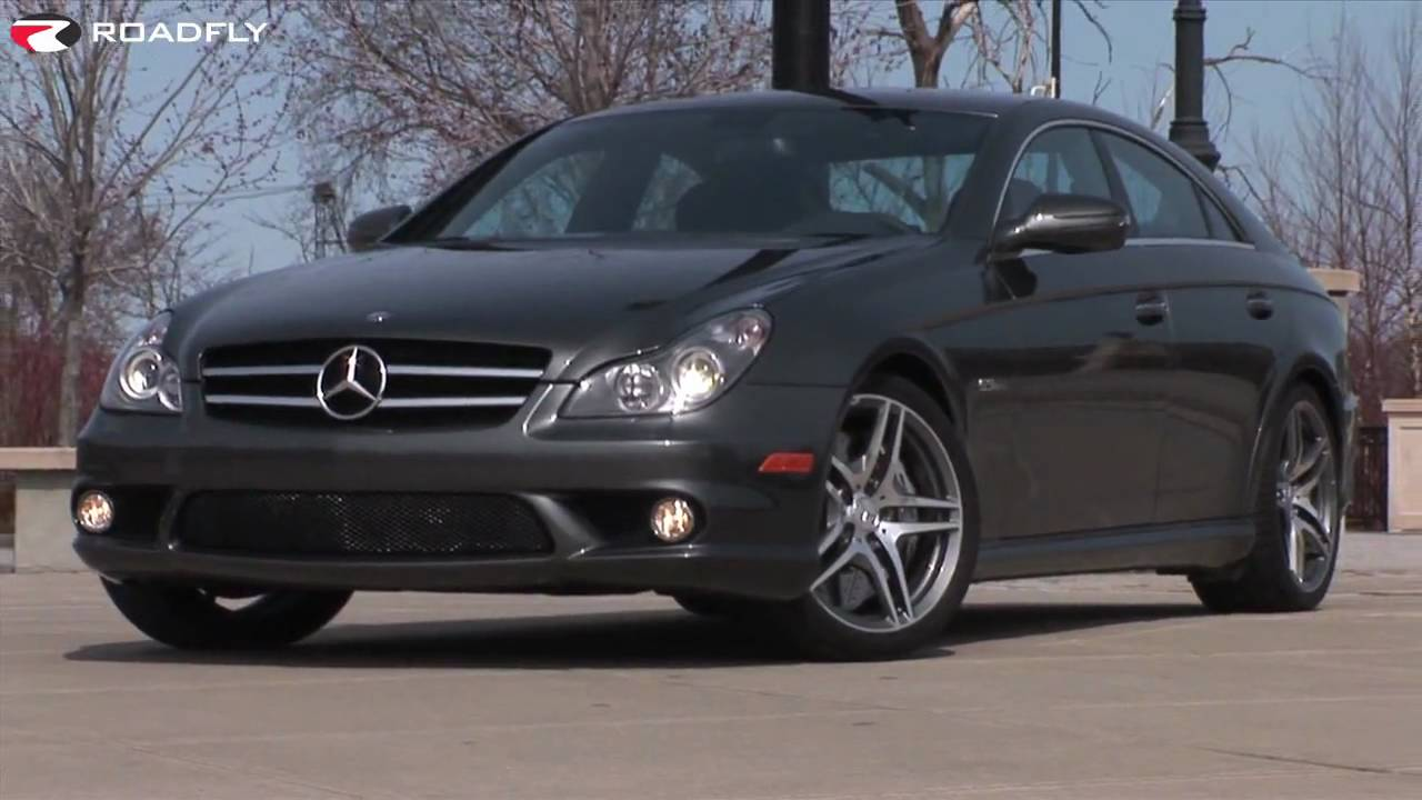 Roadflycom  2010 MercedesBenz CLS 63 AMG Road Test and Review