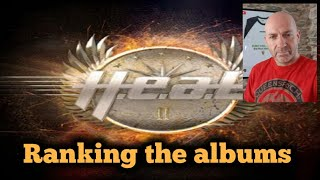 H.E.A.T - Ranking the albums