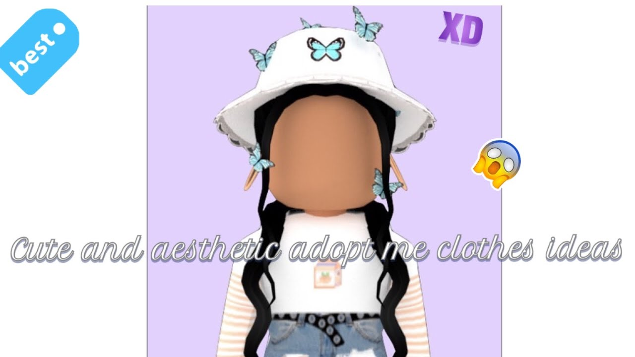Cute And Aesthetic Adopt Me Clothes Ideas Adopt Me Mochi Playz Read Desc Youtube