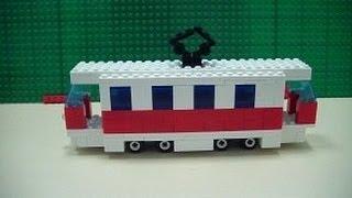 Делаем трамвай из Lego