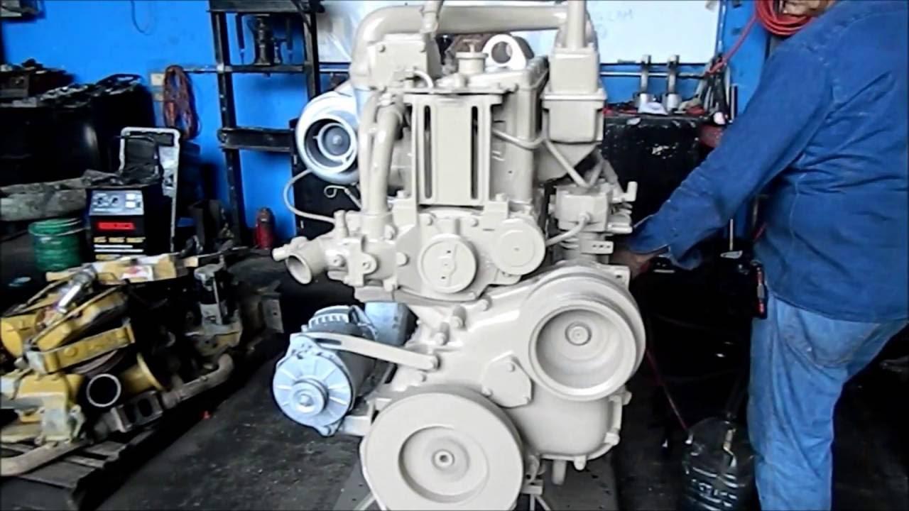 Motor Cummins Big Cam 300 Hp Youtube