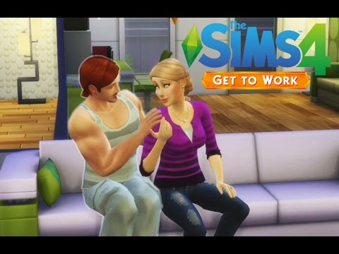 The Sims 4- Get to work - Végre terhes :)