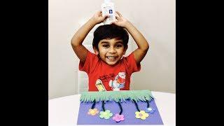 Easy Paper Craft Flower Garden | Kid Craft Ideas | Easy crafts | Fun with Jordan Ryan