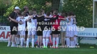 U14 - Admira vs. SV Ried 6:6 - 10 Juni 2016