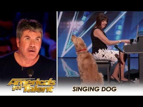Sneak Peak: Simon Cowell Finally Finds A SINGING DOG! | America's Got Talent 2018