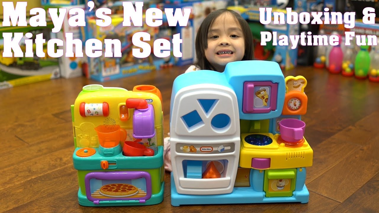 Little Girl s Toys Cooking and Kitchen Playsets Unboxing Little