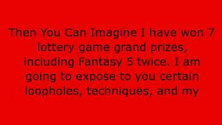 Lottery Dominator - The Monster Is Back!!!