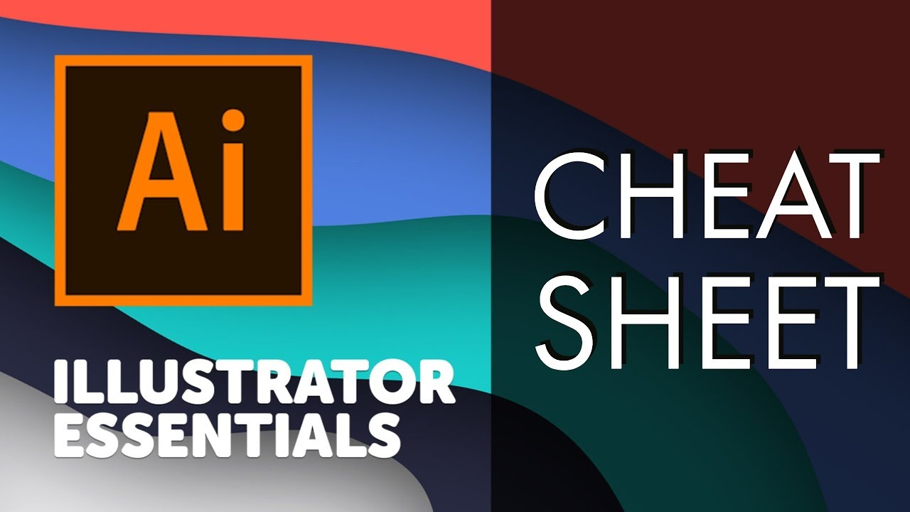 Adobe Illustrator Cheat Sheet and Shortcuts - Adobe Illustrator CC 2018  [38/39]