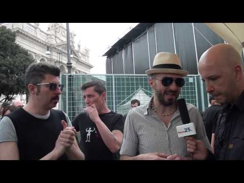 Motel Connection – Video Intervista Samuel Subsonica a Roma – Musica Elettronica Dance