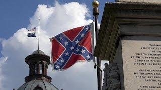 После убийств в Чарльстоне американцы требуют убрать флаг Конфедератов