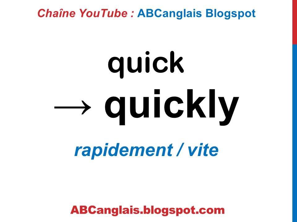 Cours D Anglais 57 Les Adverbes De Maniere En Anglais Cours D Anglais Complet Debutants Youtube