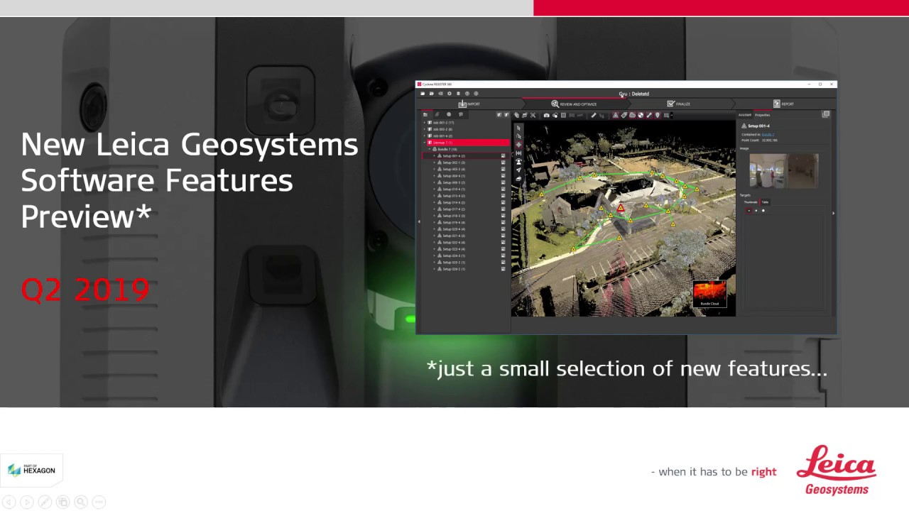Leica Geosystems HDS Software Releases Review - Q2 2019