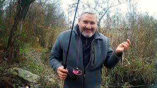 Рыбалка без понтов Слезы сопли и нытье Три новые палки и отличный конец