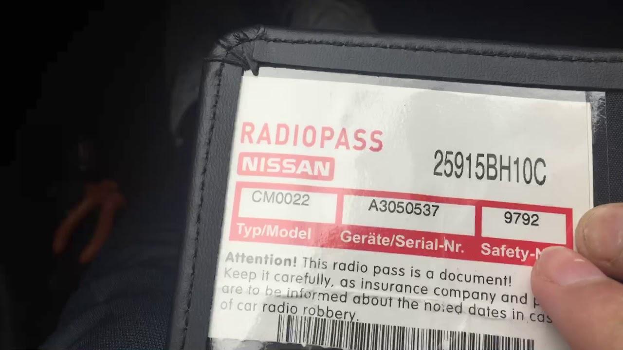 Nissan Almera 2003 Radio Wiring Diagram 2013 Ford Fusion Fuse Box Code New Upcoming Car Reviews How To Enter On Qashqai Youtube