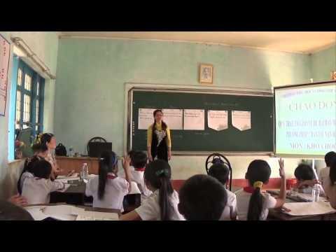 Phương pháp bàn tay nặn bột môn khoa học - Lớp 5