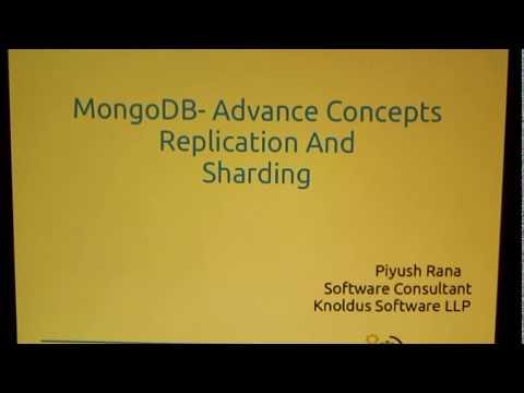 Mongo DB - Replication and Sharding